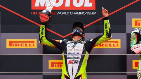 Adrian Huertas, MTM Kawasaki, Aragon RACE 1