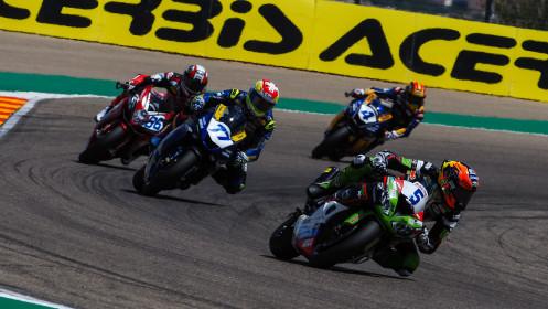 Philipp Oettl, Kawasaki Puccetti Racing, Aragon RACE 1