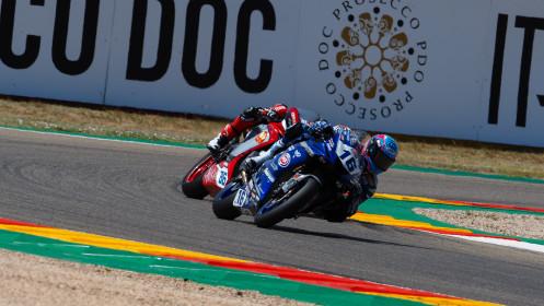 Jules Cluzel, GMT94 Yamaha, Niki Tuuli, MV Agusta Corse Clienti, Aragon RACE 1