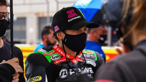 Ana Carrasco, Kawasaki Provec WorldSSP300, Aragon RACE 1