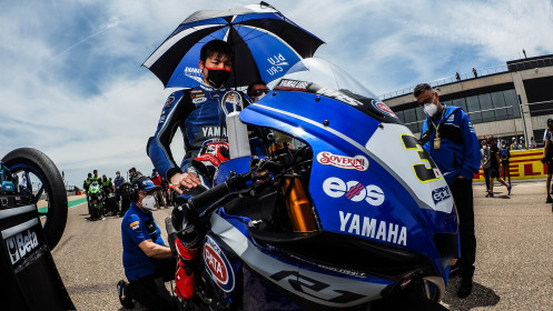 Kohta Nozane, GRT Yamaha WorldSBK Team, Aragon RACE 1
