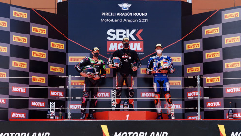 WorldSBK Aragon RACE 1