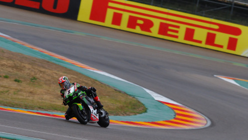 Jonathan Rea, Kawasaki Racing Team WorldSBK, Aragon WUP