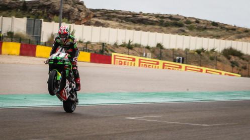 Jonathan Rea, Kawasaki Racing Team WorldSBK, Aragon Tissot Superpole RACE