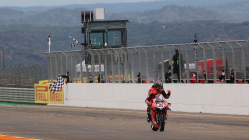 Scott Redding, Aruba.it Racing - Ducati, Aragon RACE 2