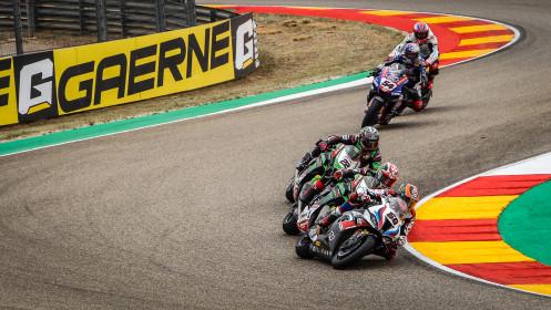 Michael Van der Mark, BMW Motorrad WorldSBK Team, Aragon RACE 2