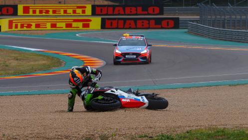 Philipp Oettl, Kawasaki Puccetti Racing, Aragon RACE 2