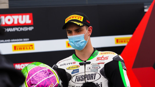 Tom Booth-Amos, Fusport - Rt Motorsports by SKM Kawasaki, Aragon RACE 2