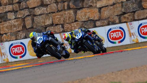 Luca Bernardi, CM Racing, Aragon RACE 2