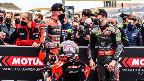 Scott Redding, Aruba.it Racing - Ducati, Jonathan Rea, Kawasaki Racing Team WorldSBK, Aragon RACE 2