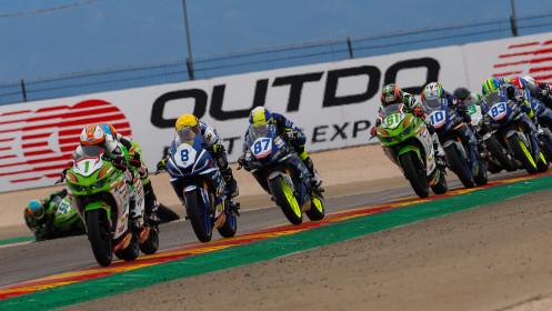 Jeffrey Buis, MTM Kawasaki, Aragon RACE 2