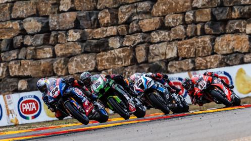 Toprak Razgatlioglu, Pata Yamaha with BRIXX WorldSBK, Aragon RACE 2