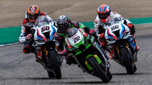 Alex Lowes, Kawasaki Racing Team WorldSBK, Aragon RACE 2
