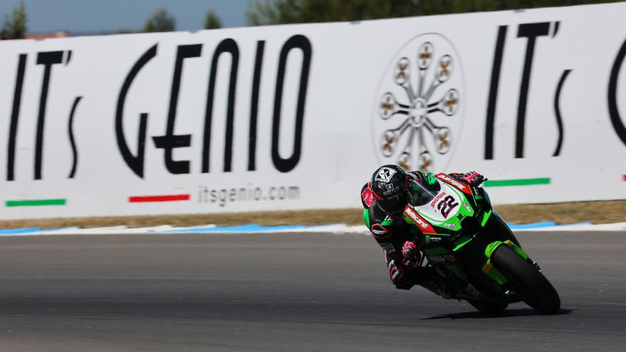 Alex Lowes, Kawasaki Racing Team WorldSBK, Estoril FP1