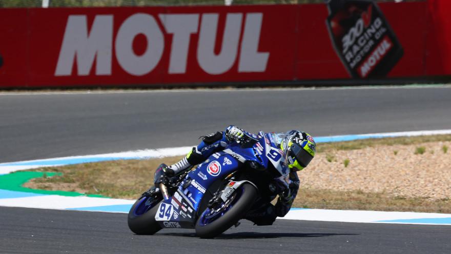 Federico Caricasulo, GMT94 Yamaha, Estoril FP1