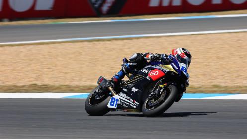 Manuel Gonzalez, Yamaha ParkinGo Team, Estoril FP2