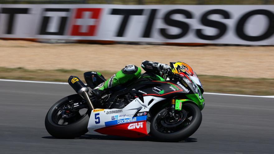 Philipp Oettl, Kawasaki Puccetti Racing, Estoril FP1