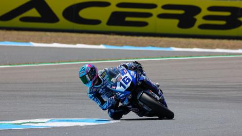 Jules Cluzel, GMT94 Yamaha, Estoril FP2