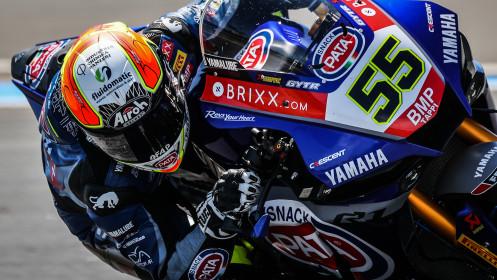 Andrea Locatelli, Pata Yamaha with BRIXX WorldSBK, Estoril FP2