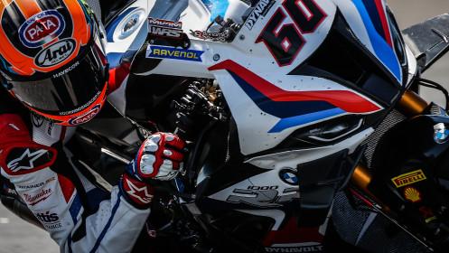 Michael van der Mark, BMW Motorrad WorldSBK Team, Estoril FP2
