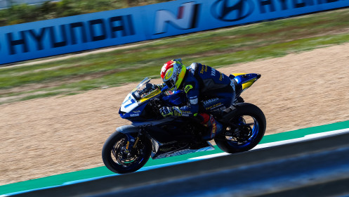 Dominique Aegerter, Ten Kate Racing Yamaha, Estoril FP2