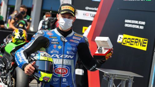 Federico Caricasulo, GMT94 Yamaha, Estoril Tissot Superpole