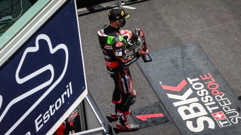 Jonathan Rea, Kawasaki Racing Team WorldSBK, Estoril Tissot Superpole