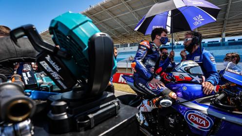 Garrett Gerloff, GRT Yamaha WorldSBK Team, Estoril RACE 1