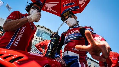 Alvaro Bautista, Team HRC, Estoril RACE 1