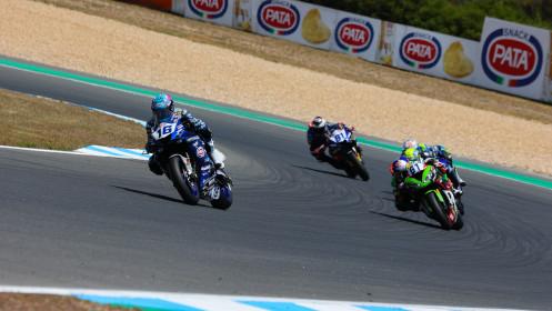 Jules Cluzel, GMT94 Yamaha, Estoril RACE 2