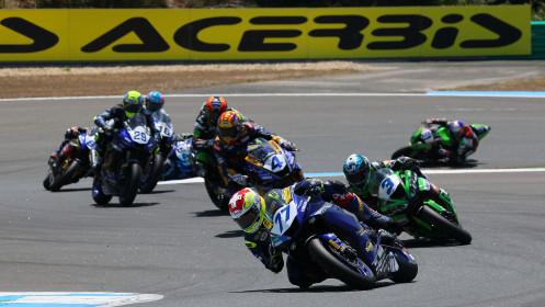 Dominique Aegerter, Ten Kate Racing Yamaha, Estoril RACE 2