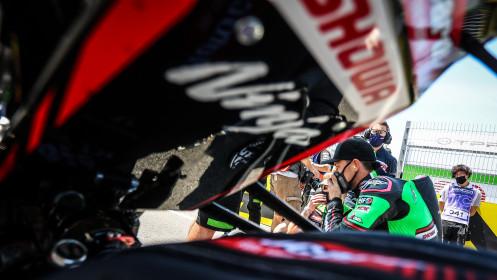Alex Lowes, Kawasaki Racing Team WorldSBK, Estoril RACE 2