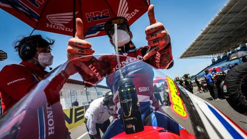 Alvaro Bautista, Team HRC, Estoril RACE 2