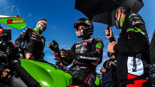 Jonathan Rea, Kawasaki Racing Team WorldSBK, Estoril Tissot Superpole RACE