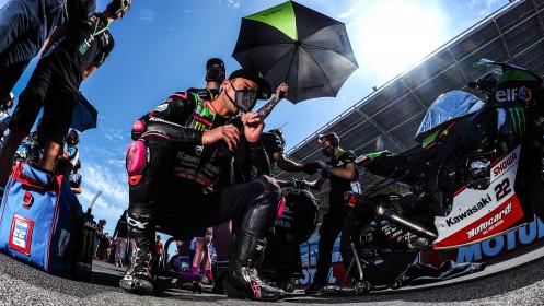 Alex Lowes, Kawasaki Racing Team WorldSBK, Estoril Tissot Superpole RACE