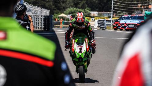 Jonathan Rea, Kawasaki Racing Team WorldSBK, Estoril RACE 2