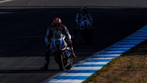 Michael van der Mark, BMW Motorrad WorldSBK Team, Estoril Tissot Superpole RACE
