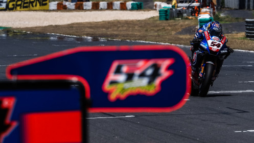 Toprak Razgatlioglu, Pata Yamaha with BRIXX WorldSBK, Estoril RACE 2