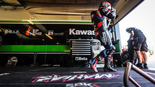 Lucas Mahias, Kawasaki Puccetti Racing, Misano FP2