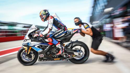 Michael van der Mark, BMW Motorrad WorldSBK Team, Misano FP2