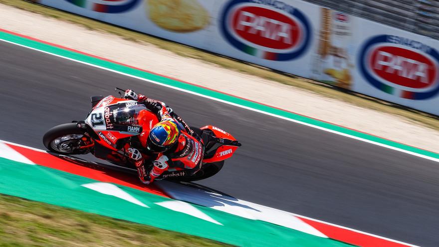Michael Ruben Rinaldi, Aruba.it Racing - Ducati, Misano FP1