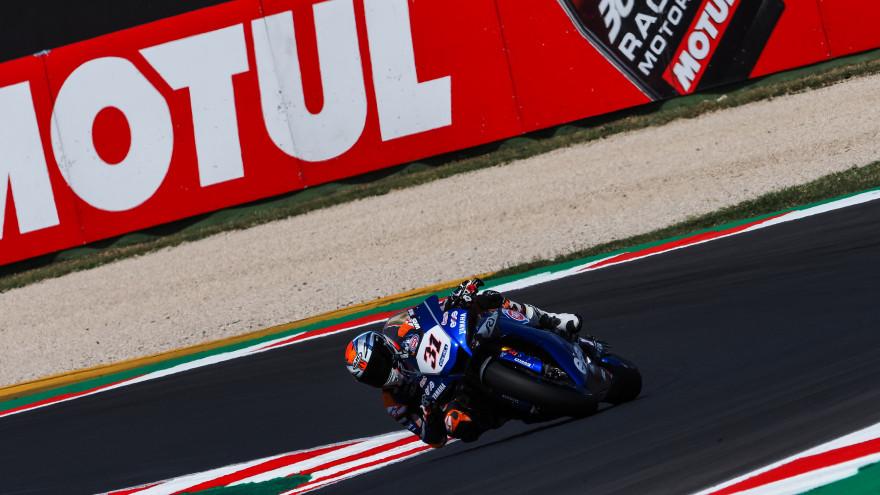 Garrett Gerloff, GRT Yamaha WorldSBK Team, Misano FP1