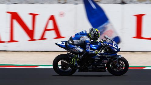 Federico Caricasulo, GMT94 Yamaha, Misano FP1