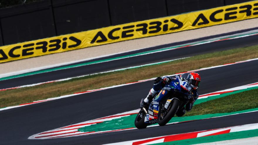 Filippo Fuligni, D34G Racing, Misano FP1