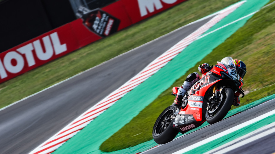 Michael Ruben Rinaldi, Aruba.it Racing - Ducati, Misano FP2
