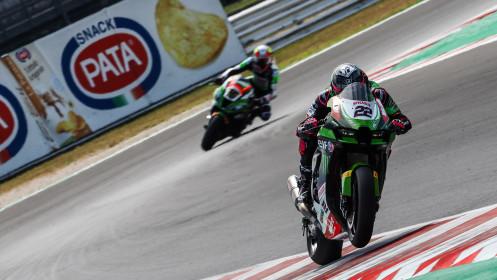 Alex Lowes, Kawasaki Racing Team WorldSBK, Misano FP2