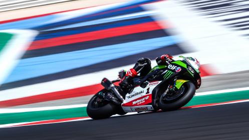 Jonathan Rea, Kawasaki Racing Team WorldSBK, Misano FP2