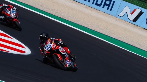 Roberto Mercandelli, Team Rosso e Nero, Misano FP2