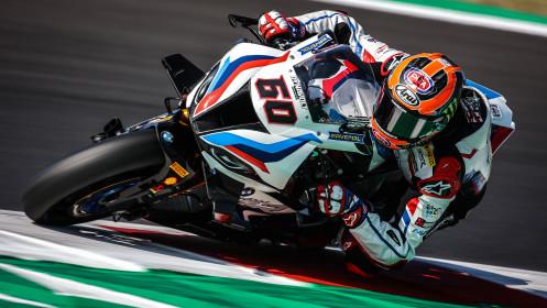 Michael van der Mark, BMW Motorrad WorldSBK Team, Misano RACE 1