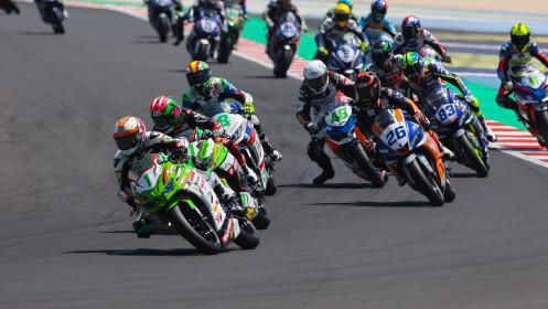 Jeffrey Buis, MTM Kawasaki, Misano RACE 1